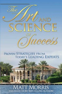 "Book Cover for ""The Art and Science of Success"""